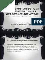 Productos Cosmeticos Que Pueden Causar Reacciones Adeversas