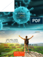 Oncology - Taj Pharma_ 2016 - Life Will Win Brochure Ad