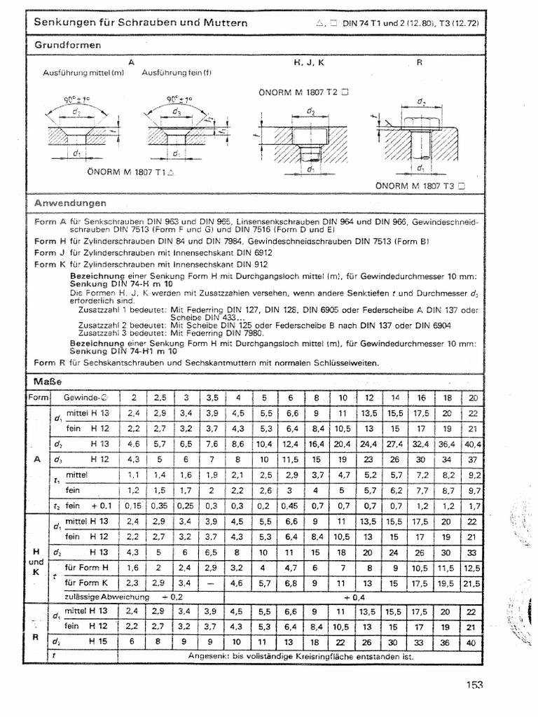 Din 74 af3 for Din 18202 tabelle 3