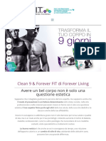 Detox Advanced Clean 9 C9 FIT Forever Living
