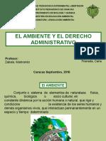 El Ambiente y El Derecho Administrativo - Carla Frisneda