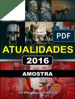 Apostila de Atualidades 2016 (Amostra)