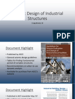 Seismic Design of Industrial Structures