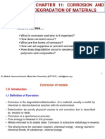 Chapter 11 Corrosion and Degradation of Materials