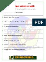 Christmas sentence scramble.pdf