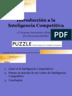 Introducción a la Inteligencia Competitiva