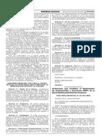 Ordenanza que modifica el Reglamento de Organización y Funciones (ROF) de la Municipalidad Distrital de Hualmay