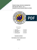 Eksitasi Generator ( MESIN _ MESIN LISTRIK 2 )(1)