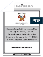 Decreto Legislativo 1272