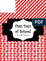 first days of school pdf
