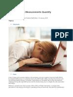 Sleep & Light for Fatigue