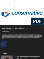 conservative  1