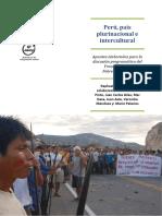 Perú, País Plurinacional e Intercultural