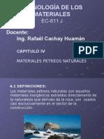 Capitulo IV Rocas - Resumen - Ec 611 g - 2016 - 2