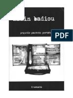 Badiou Alain Pequeno Panteon Portatil