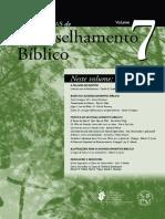 Coletânias de Aconselhamento Bíblico - Volume VII