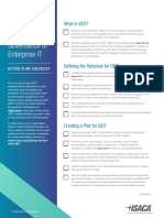Getting Started With GEIT Checklist