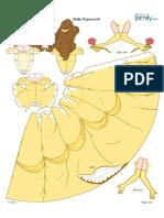 Caixa Das Princesas - Bela
