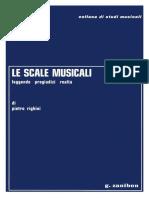 Pietro Righini  Le Scale Musicali