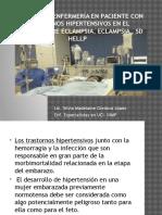 Trastornos Hipertensivos en El Embarazo. Julio 2016 Telemedina Ana