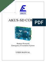 Akus-sd Combi User Manual v12