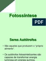 Fotossintese Prof.fabio