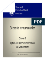 OCW 5 Optical and Optoelectronic Sensors and Measurements