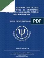 Informe Encuesta AEC DC 2