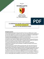 Annonce Médecin MSP Bourg-Lastic