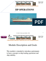 Ship Operations-Power Point