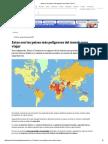 Estos Son Los Países Más Peligrosos Para Viajar _ Tele 13
