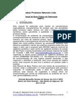 Manual de Boas Praticas de Fabricação III