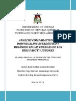 Guanuchi_Tesis_Analisis Comparativo de Downscaling Estadistico y Dinamico