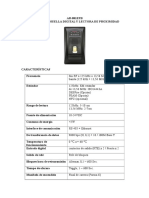 Modulo de Huella Digital AR-881EFB