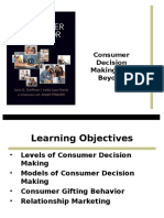 Consumer Decision Making & Beyond