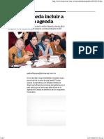 18-12-16 Pide Castañeda Incluir a Trump en La Agenda