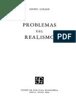 Georg Lukacs - Problemas Del Realismo