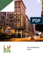 LURN 2016 Annual Report