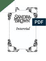 Sandra Brown - Interviul.pdf