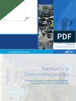 Territorio y Descentralización