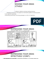 Expressing Your Ideas Effectively