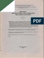 Renta de Tabacos en El Rio de La Plata Rev. Hist Dere