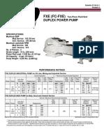 1025 Fc Fxe Duplex Power Pump