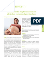 Audit of fundal height measurement