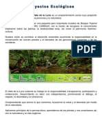 Proyectos Ecologicos 2017