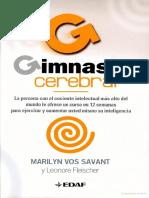 Gimnasia Cerebral - Marylin Vos Savant y Leonore Fleischer..2ed