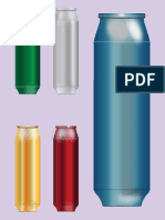 VectorFree Soft Drink Cans