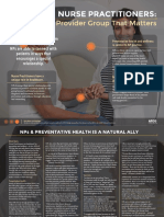 Nurse Practitioners & Preventative Health