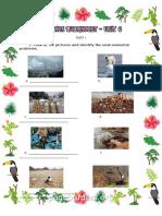 Ecotourism Worksheet