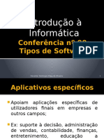 Conferência nº 09 - Tipos de Software de Aplicação